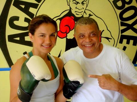 Kyra e Claudinho Coelho. Foto: Ana Hissa/Sportv.