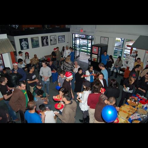 Gracie Barra America's 1st annual potluck party