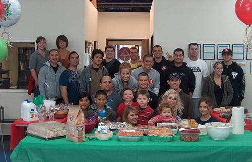 Gracie Barra Yorba Linda's 1st Annual Holiday Potluck