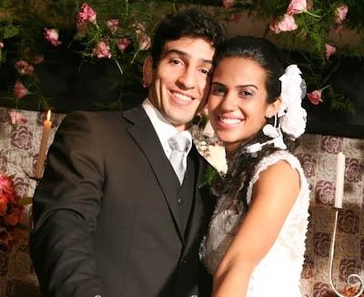 O casal Lepri, em foto do acervo pessoal dos pombinhos.