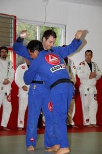 "Prof. Rafael ""Foquinha"" receives second stripe. Photo: GB Encinitas"