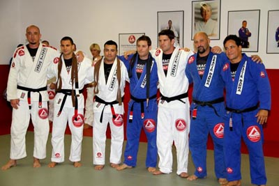 The old and new black belts present at the ceremony. Photo: GB Encinitas
