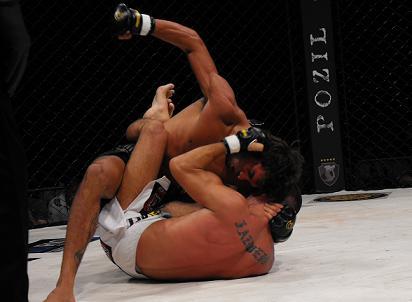 Milton Vieira faz a superluta do Bitetti Combat