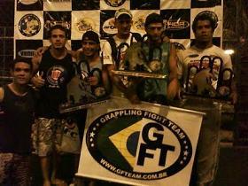 Time da GFTeam Sergipe. Foto: divulgação