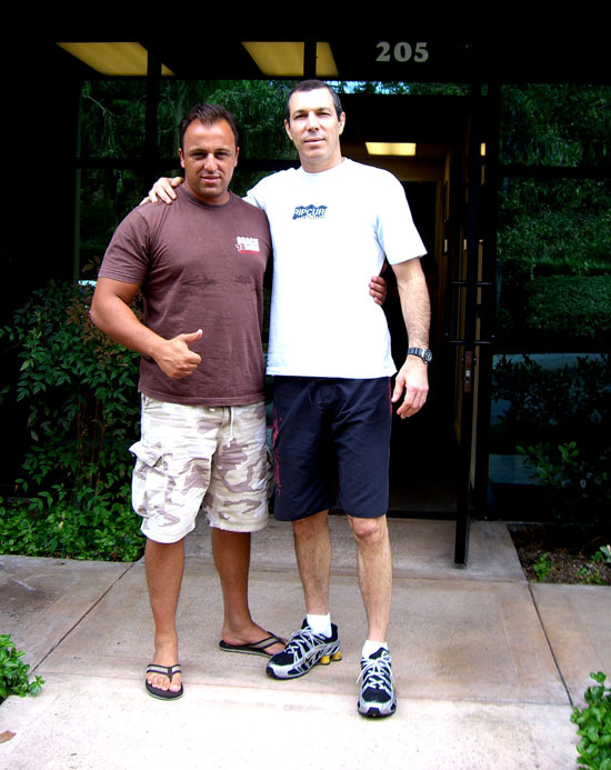 Alex e Carlos Gracie Jr.