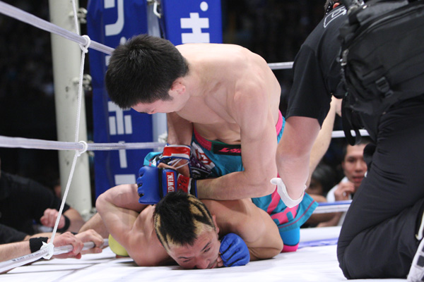 Aoki submits another one; Ninja loses