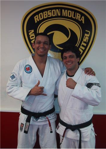 Dantas (left) and Moura. Photo: Publicity