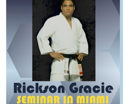 GMA Blog: few spots for Rickson at Gracie Miami