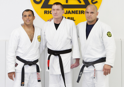There's no black belt like Russell Redenbaugh