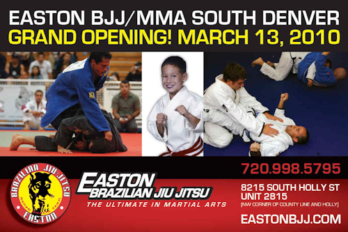 Easton BJJ opens new branch in Denver