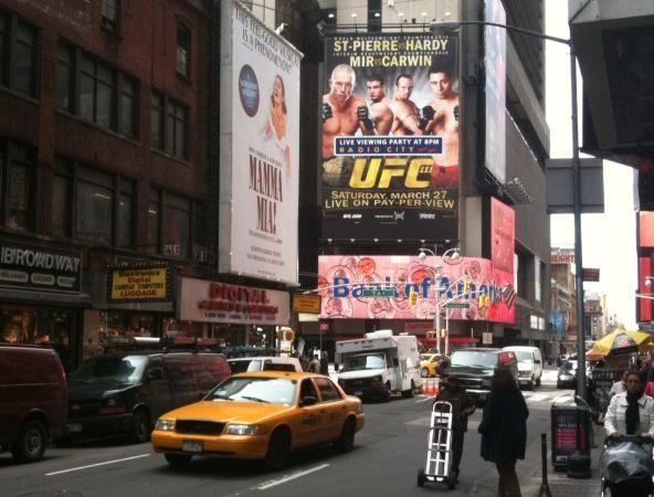 UFC: New York anticipating Jiu-Jitsu clinic