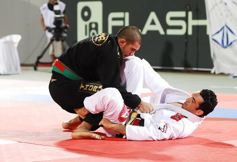 Vieira contra Bráulio Estima no World Pro. Foto: Ivan Trindade
