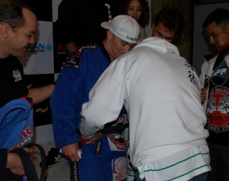 GMA Blog: new belt for Ryan Beauregard