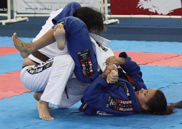 Afie a guarda-aranha no Jiu-Jitsu com Michelle Nicolini