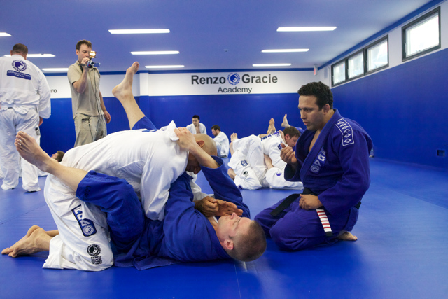 Renzo Gracie seminar. For free!