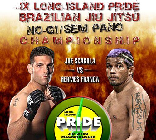 June Long Island Pride features Hermes França in no-gi JJ