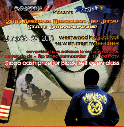 Big payout Arizona BJJ State Championship deadline near
