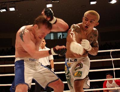 Veja a pressão da guilhotina de Chiquerim no MMA