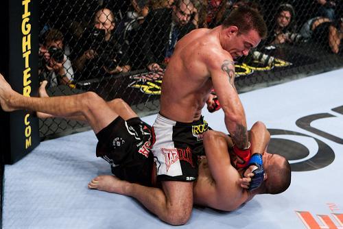 Black belt Jake Shields rides high in UFC