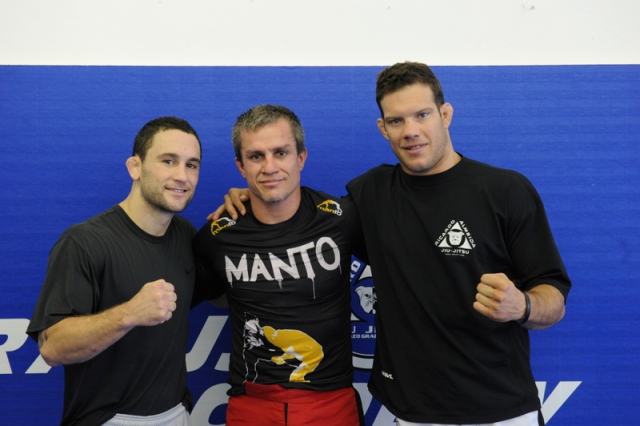 After 25 years of Jiu-Jitsu, Draculino trains with Frank Edgar and comments on Strikeforce debut