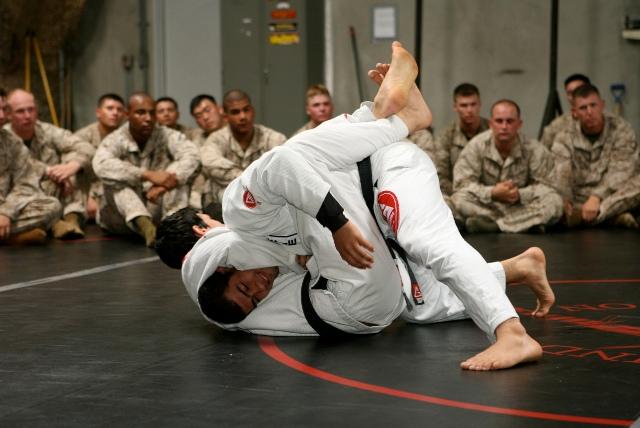 Jiu-Jitsu class for Camp Pendleton Marines