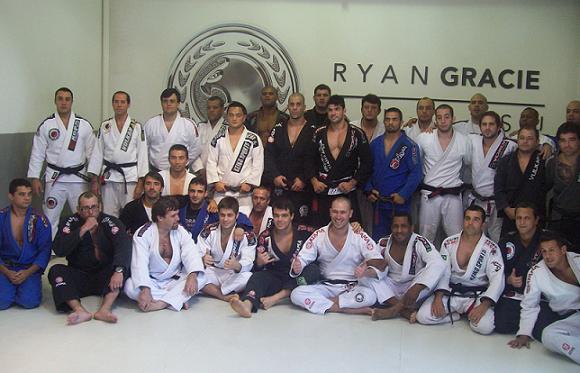 Ryan Gracie Academy in celebration for Celsinho's second stripe