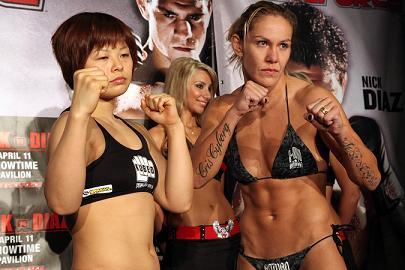 O MMA feminino, na CNN