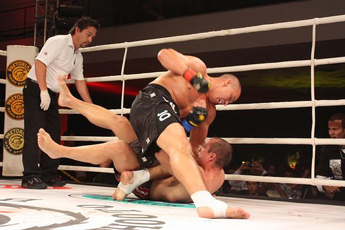 Brasília's defenders in Shooto