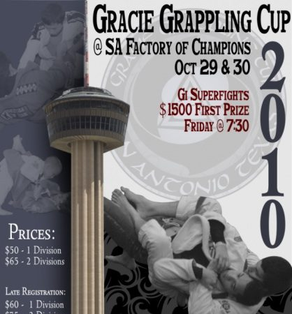 Compete at the Gracie Grappling Cup