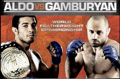 WEC 51: José Aldo knocks out another one