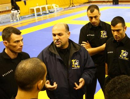 Mansur heads refereeing course in San Diego