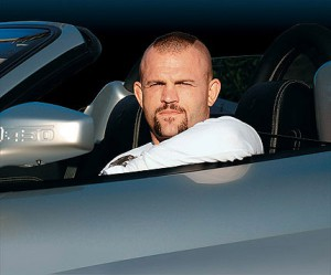 When Chuck Liddell helped a web user ask beloved's hand in marriage