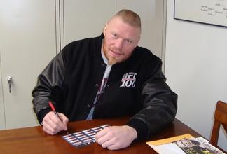 Brock Lesnar de volta ao pro-wrestling