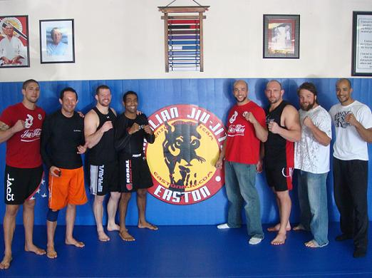 Training under coach to some UFC fighters