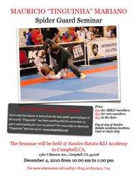 Catch a seminar at Sandro Batata BJJ