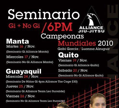 Luanna, Gabi to teach in Ecuador