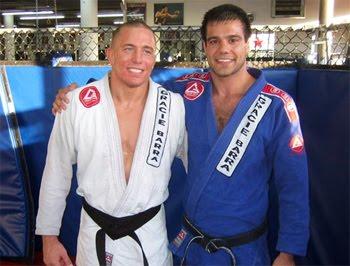 GSP's Jiu-Jitsu and his meeting with Roger Gracie