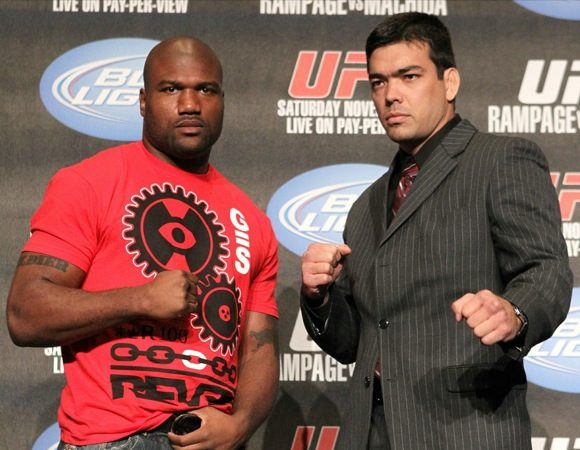 Who wins at UFC 123?