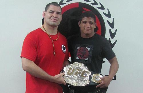 No-Gi world champion learns from Velasquez