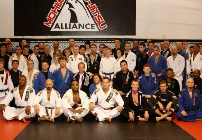 Jacare teaches and confers black belt degrees in Texas