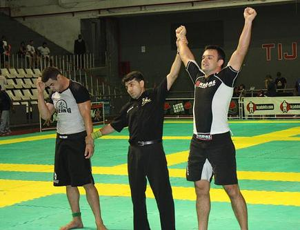Businessman, ex-goal keeper and fighter: meet Brazil's no-gi absolute champion