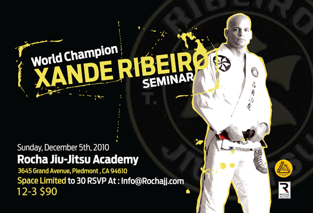 Catch a class with Xande