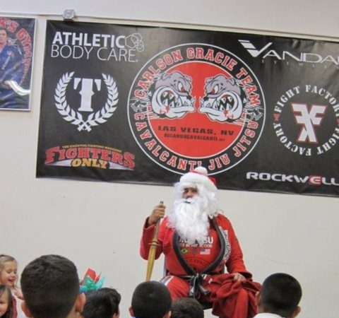 Black Belt Santa in Las Vegas