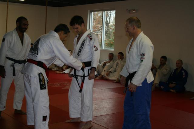 Jacaré graduates new black belt in South Carolina