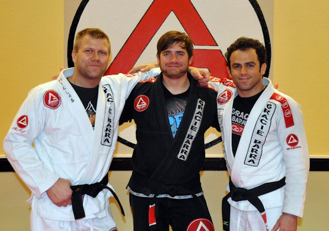 Carlos Lemos graduates Black belt in Sweden