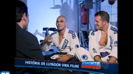 Matt Hamill featured on Brazilian TV