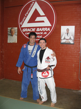 Rolles Gracie at GB Montreal