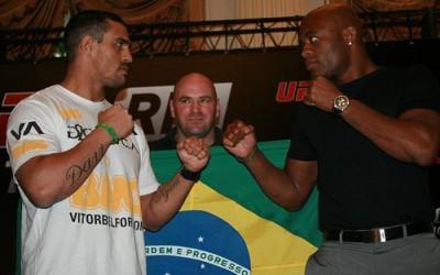 Vitor Belfort: five trainers versus Anderson