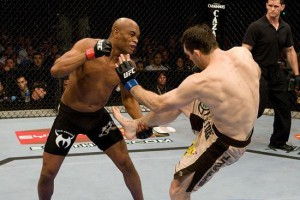 UFC 168 Countdown: watch one of Anderson Silva's amazing knock outs