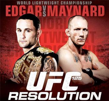 Edgar keeps belt following draw with Maynard